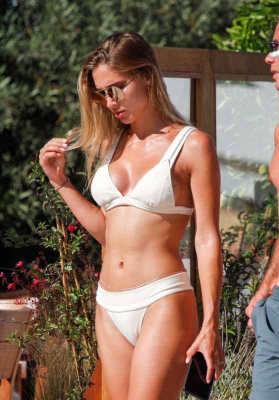 Ann Kathri Brömmel in Bikini by the Pool in Ibiza 06/29/2019