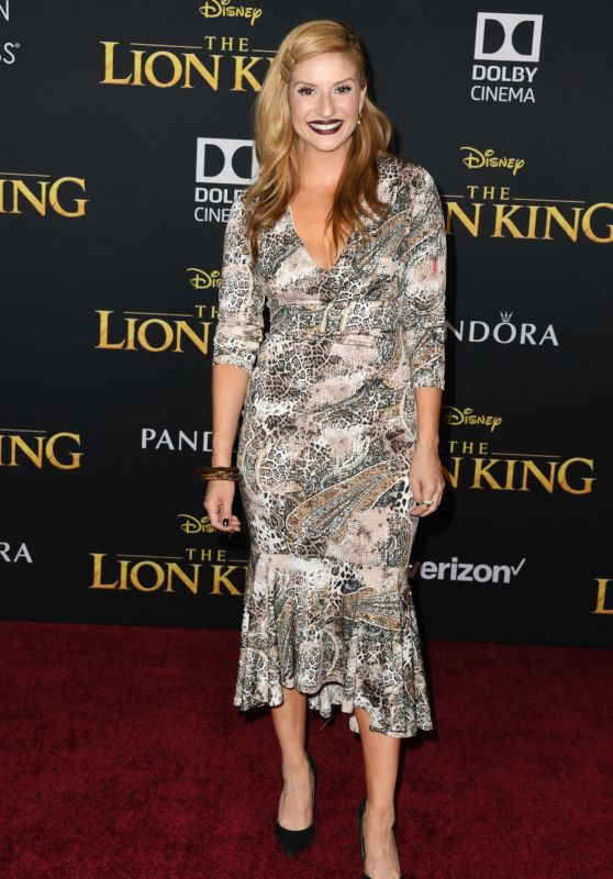 "Anneliese van der Pol – ""The Lion King"" Premiere in Hollywood"