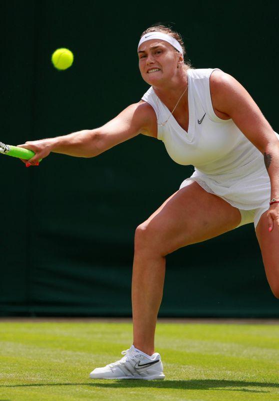Aryna Sabalenka – Wimbledon Tennis Championships 07/01/2019