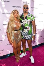 Ashanti - Ashanti x PrettyLittleThing Launch Party in Hollywood 06/30/2019