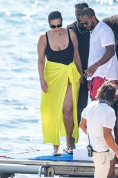 Ashley Graham - Holiday in Nerano, Italy 07/23/2019