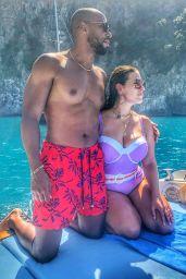 Ashley Graham - Swimsuit Photoshoot, Amalfi Coast July 2019