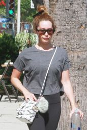 Ashley Tisdale - Runs Errands in Studio City 07/07/2019