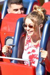 Bella Hadid and Gigi Hadid at Disneyland in Anaheim 07/06/2019