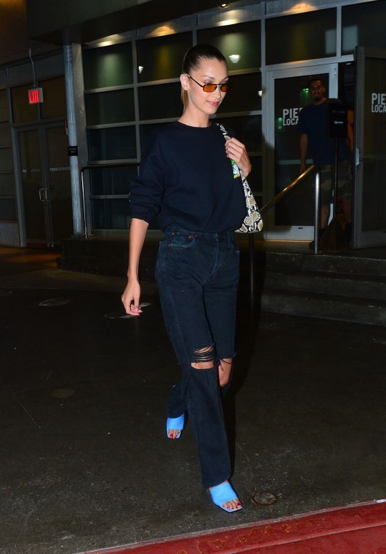 Bella Hadid - Out in NY 07/11/2019