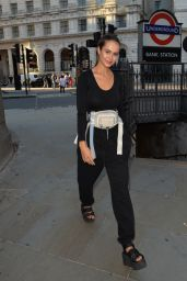 Bethan Wright Style - Leaving The Ned Hotel in London 07/21/2019