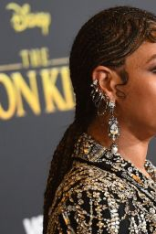 """Beyoncé – """"The Lion King"""" Premiere in Hollywood"""