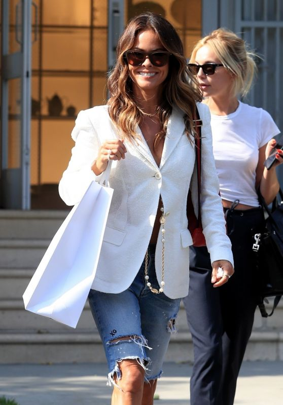 Brooke Burke - Shopping in West Hollywood 07/09/2019