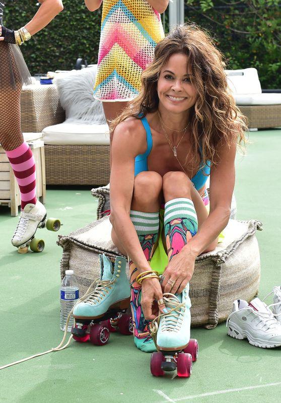 Brooke Burke - Summer Roller Skating Party in Malibu 06/29/2019
