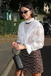 Bruna Marquezine - Leaving the Miu Miu Resort 2020 Show in Paris