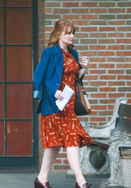Bryce Dallas Howard - Out in New York City 07/25/2019