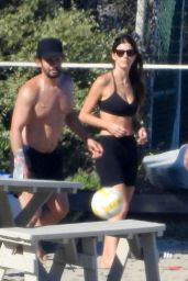 Camila Morrone Playing Volleyball 07/14/2019