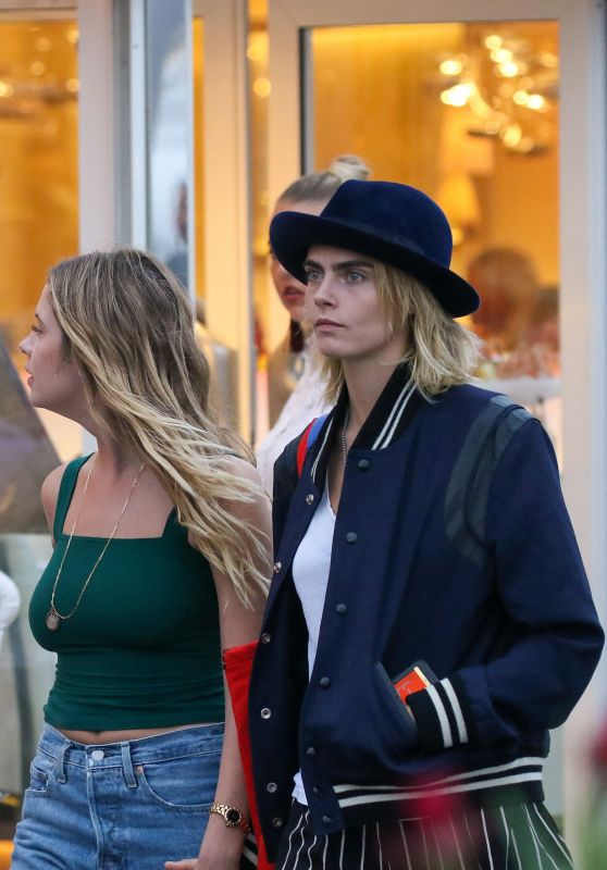 Cara Delevingne and Ashley Benson - Out in Saint Tropez 07/08/2019