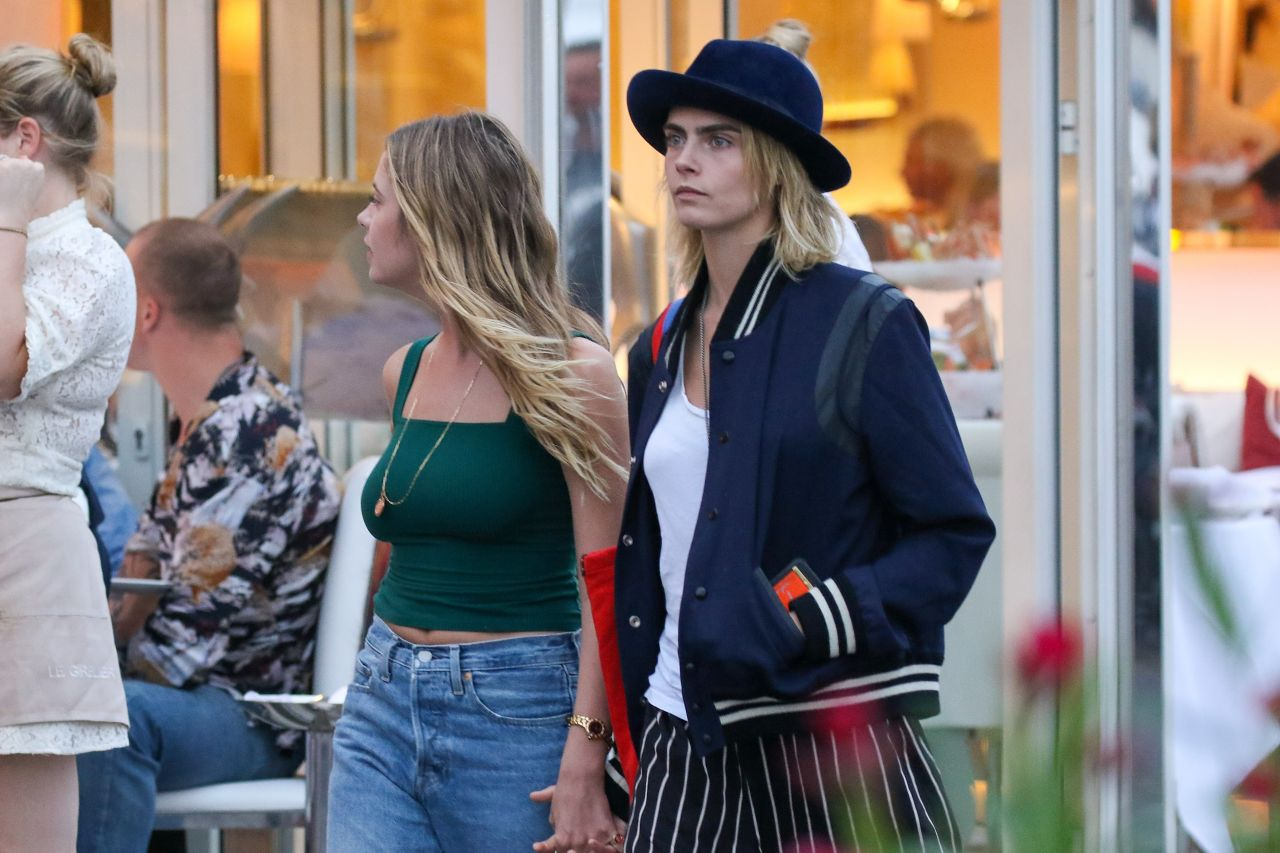 Cara Delevingne And Ashley Benson Out In Saint Tropez 07
