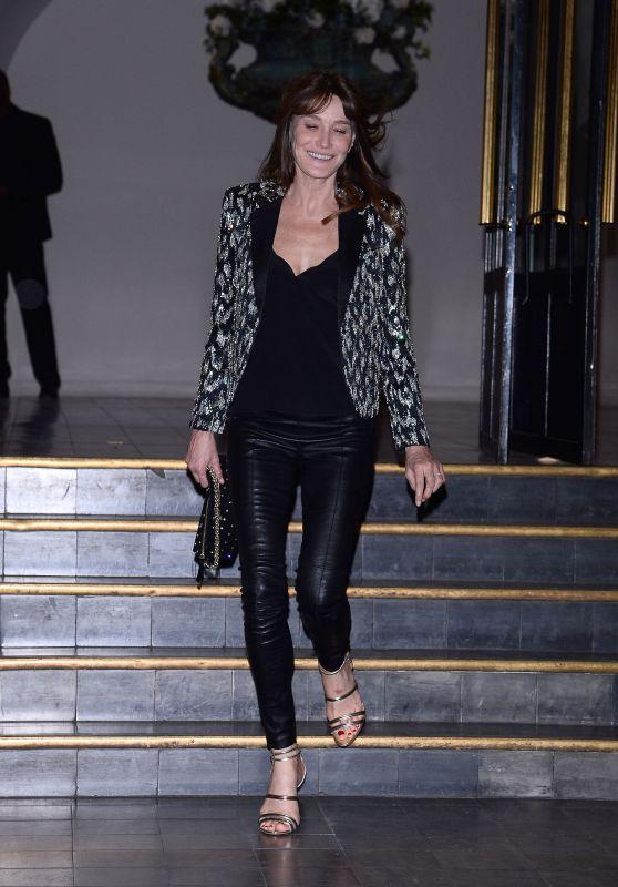 Carla Bruni - Vogue Paris Foundation Gala 07/02/2019