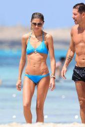 Carla Pereyra in Bikini - Beach in Formentera 06/29/2019