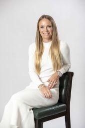 Caroline Wozniacki - Photoshoot at Dubai Duty Free WTA Summer Party in London 06/28/2019