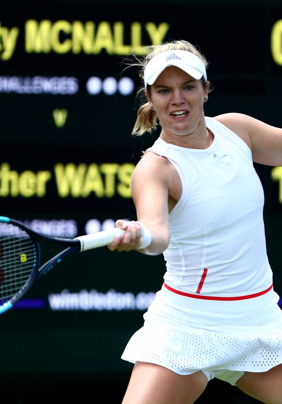 Caty McNally – Wimbledon Tennis Championships 07/01/2019