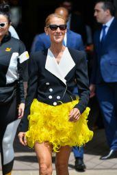 Celine Dion - Leaves Le Crillon in Paris 06/30/2019
