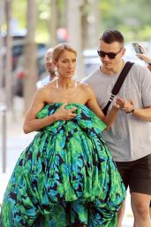 Celine Dion -Photo Shooting in the Streets of Paris 06/30/2019