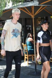 Chantel Jeffries at Toast Bakery Cafe in West Hollywood 07/16/2019