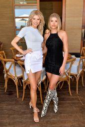 Charlotte McKinney - Sofia Richie Celebrates Campaign With Frankies Bikinis in Malibu 07/01/2019