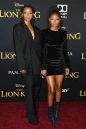 "Chloe Bailey and Halle Bailey – ""The Lion King"" Premiere in Hollywood"