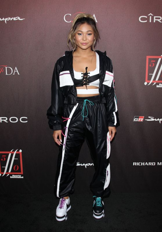 Chloe Kim – 2019 Sports Illustrated Fashionable 50 Party in LA