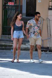 Chrissy Teigen and John Legend in Porto Venere 07/04/2019