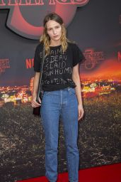 "Christa Teret – ""Stranger Things"" Season 3 Premiere in Paris"