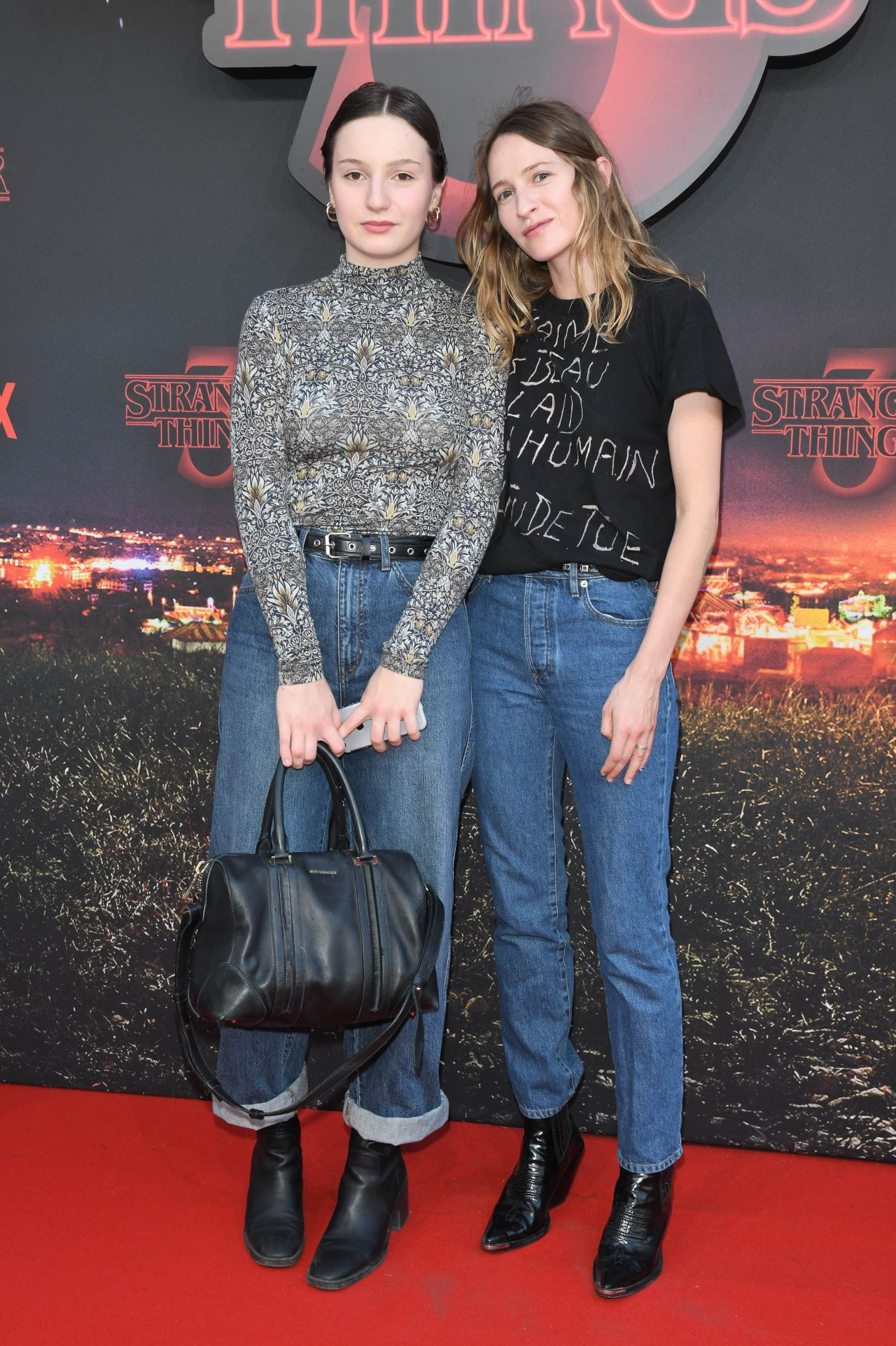 Christa Teret Stranger Things Season 3 Premiere In Paris