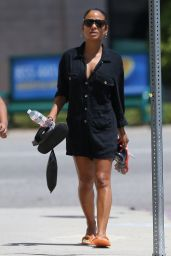 Christina Milian - Leaving From the Nail Salon in Los Angeles 07/30/2019