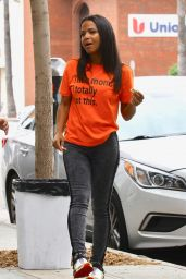 Christina Milian - Out in Studio City 07/25/2019