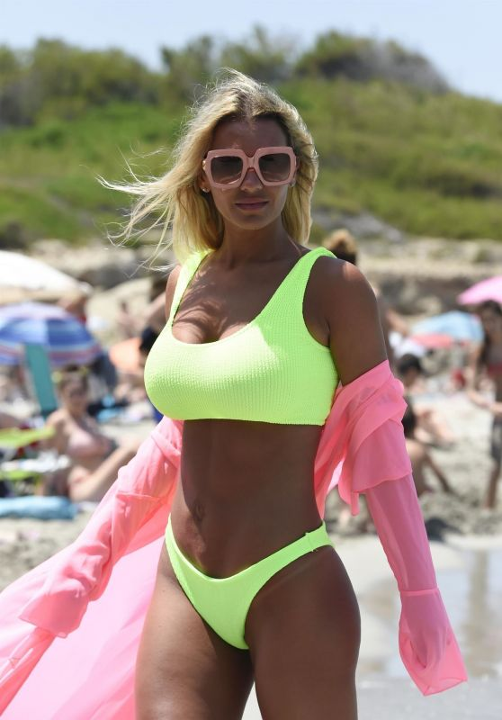 Christine McGuinness in a Bikini on Holiday in Spain 07/05/2019