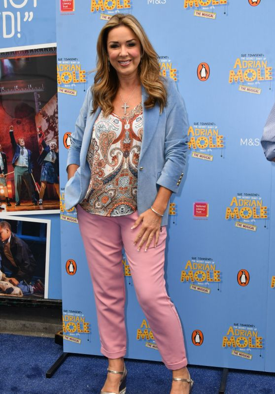 "Claire Sweeney – ""The Secret Diary of Adrian Mole Aged 13¾"" The Musical Gala in London"