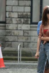 "Daisy Edgar-Jones - ""Normal People"" Set in Dublin 07/23/2019"
