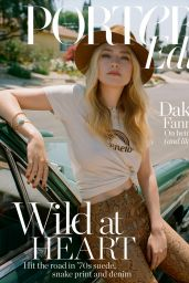 Dakota Fanning - The Edit by Net-A-Porter July 2019 Cover and Photos