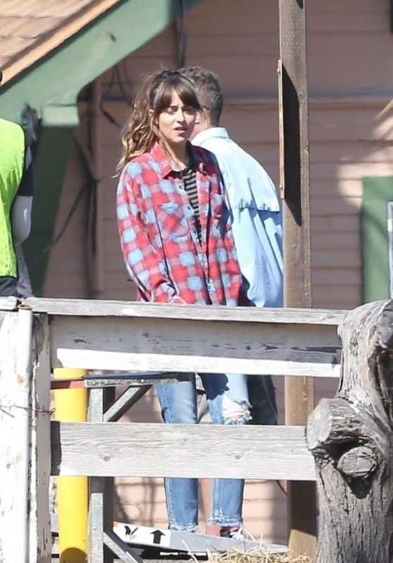 "Dakota Johnson - Films Scenes for ""Covers"" on Catalina Island 07/29/2019"