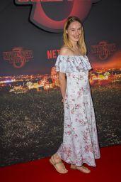 "Deborah Francois – ""Stranger Things"" Season 3 Premiere in Paris"