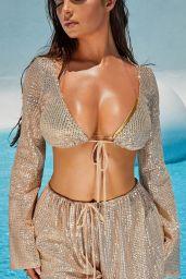 Demi Rose - Oh Polly Beach Wear Line 2019