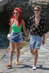 Dianne Buswell and Joe Sugg - Vacation on Mykonos Island 07/23/2019