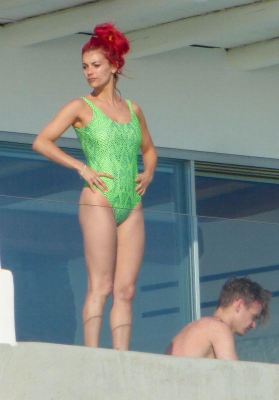 Dianne Buswell in a Swimsuit - Mykonos Island 07/24/2019