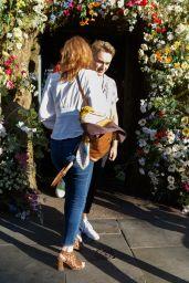Eleanor Tomlinson - Leaving Ivy Chelsea Garden in London 07/03/2019
