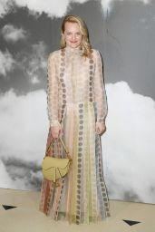 Elisabeth Moss – Christian Dior Haute Couture F/W 19/20 Show in Paris