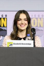 "Elizabeth Henstridge – ""Agents of S.H.I.E.L.D."" Panel at 2019 SDCC"