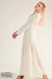 Ella Hope Merryweather - Marie Claire Magazine Ukraine July 2019 Issue