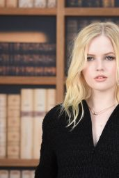 Ellie Bamber – Chanel Haute Couture Fall/Winter 19/20 Show at Paris Fashion Week