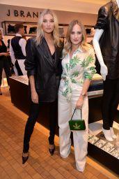 Elsa Hosk - J Brand x Elsa Hosk VIP Launch in London 07/18/2019