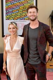 "Elsa Pataky and Chris Hemsworth – ""Once Upon a Time In Hollywood"" Premiere in LA"