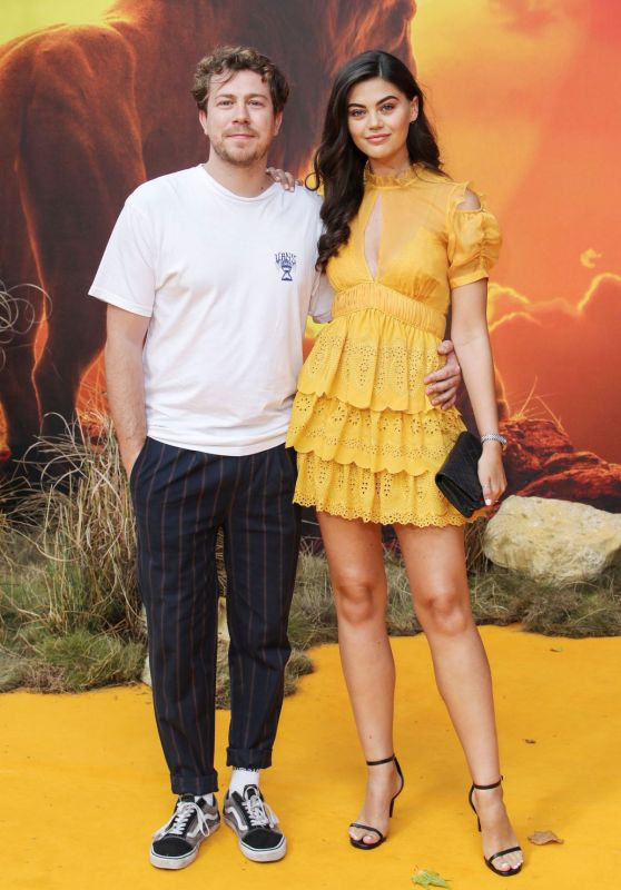 "Emily Canham – ""The Lion King"" Premiere in London"